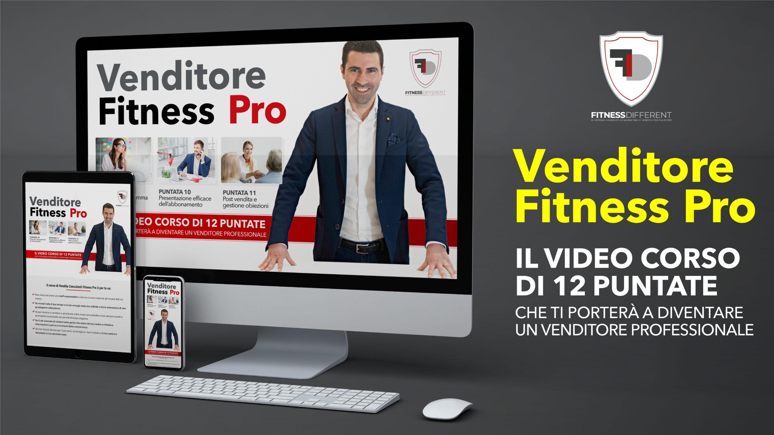 video corso vendita fitness professionale